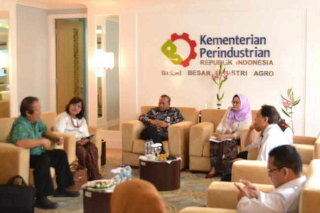 Kunjungan Kepala BPPI Kemenperin & Indonesian Food Innovation Center